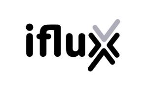 iflux Logo black / white